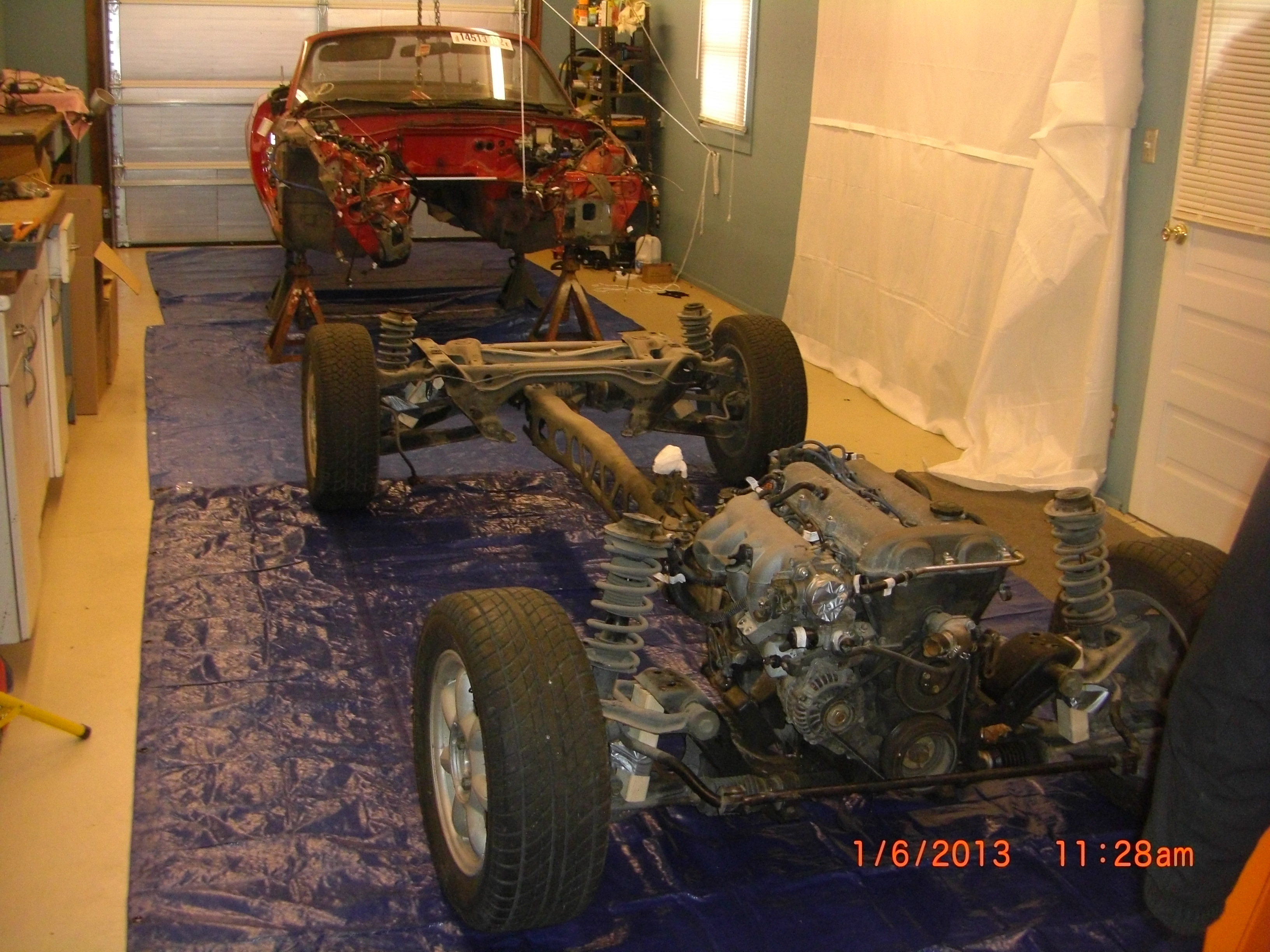 PICJ0013 removing miata donor parts 4 of 9 body and ppf seperated  at fashall.co