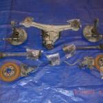 Rear doner parts