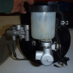 Donor master cyl, proportion valve with bracket